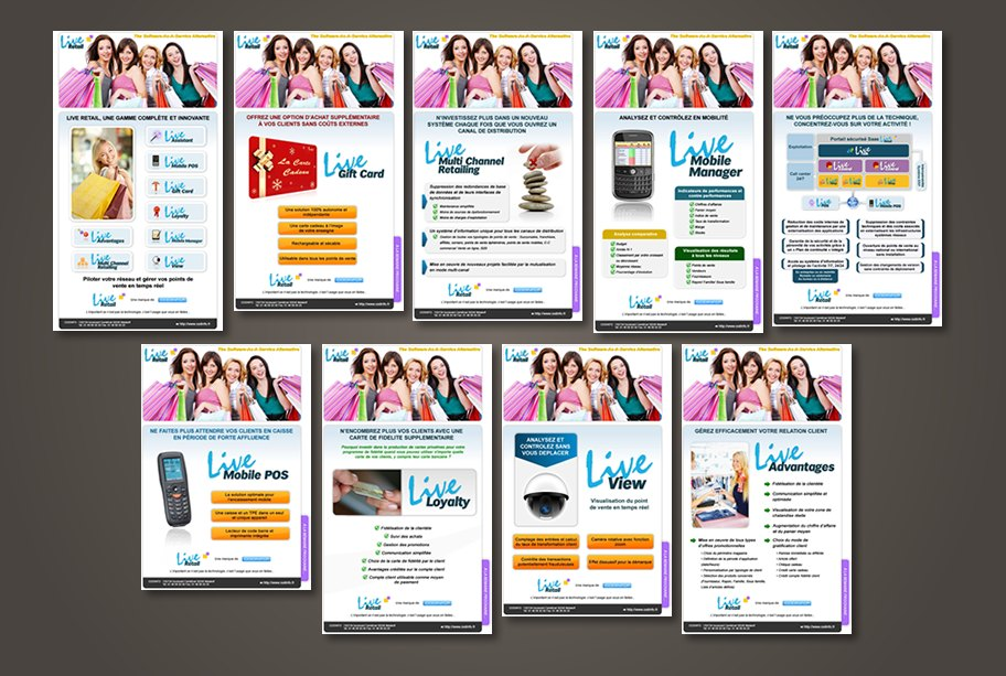 Campagne newsletters liveretail codinfo